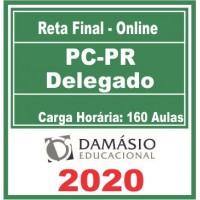 PC PR (Delegado de Policia) Reta Final 2020