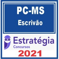 PC MS (Escrivão) 2021