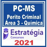 PC MS (Perito Criminal – Área 03 – Química) 2021