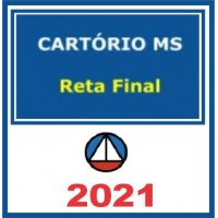 Cartório MS (1 Fase) Reta Final 2021
