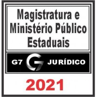 Magistratura e MP Estaduais 2021