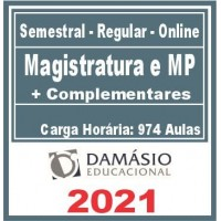 Magistratura e MP (+ Complementares) 2021