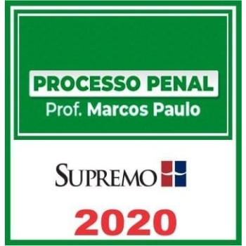 PROCESSUAL PENAL (MARCOS PAULO) 2020 (S)