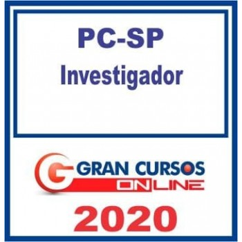 PC SP (INVESTIGADOR) 2020 (G)
