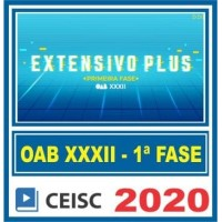 OAB 1 FASE XXXII (EXTENSIVO PLUS) - (CSC)