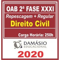 OAB 2 FASE XXXI (CIVIL) 2020 (D)