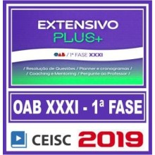 OAB 1ª FASE XXXI (EXTENSIVO PLUS) 2019 (CSC)