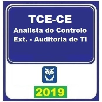 TCE CE (ANALISTA – AUDITORIA DE TI) 2019 (E)