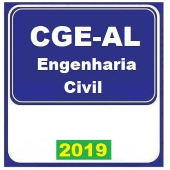CGE AL (ANALISTA – ENGENHARIA CIVIL) 2019 (E)