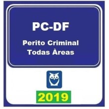 PC DF (PERITO TODAS AS ÁREAS) 2019 (E)