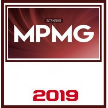 MP MG CURSO INTENSIVO (PROMOTOR) 2019 (CP)