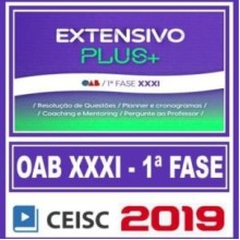 OAB 1ª FASE XXXI (EXTENSIVO PLUS) 2019.2 (CSC)