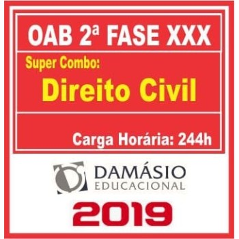 OAB 2 FASE XXX (CIVIL) 2019.2