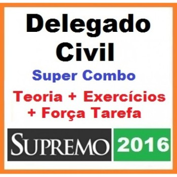 Delegado Civil 2016 - SUPER COMBO SUPREMO