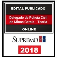 PC MG (DELEGADO) PÓS EDITAL - SUPREMO TV 2018