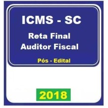 ICMS SC 2018 – Auditor Fiscal Reta Final