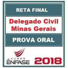 PC MG (DELEGADO) PROVA ORAL