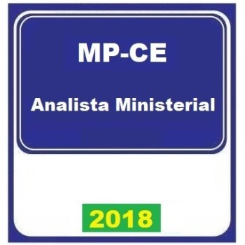 MP CE (ANALISTA MINISTERIAL) 2018