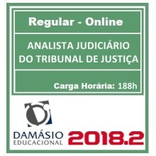 Analista Judiciário do TJ – Regular 2018.2 (D)