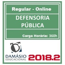 DEFENSORIA PÚBLICA (REGULAR) 2018.2 (D)