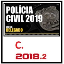 DELEGADO DA POLÍCIA CIVIL (REGULAR) 2019