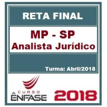 MP-SP (ANALISTA JURÍDICO) RETA FINAL