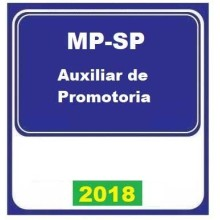 MP SP (AUXILIAR DE PROMOTORIA) 2018