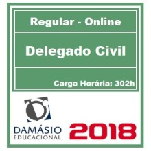 DELEGADO CIVIL DAMÁSIO (CURSO REGULAR) 2018
