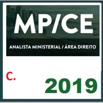 MP CE (ANALISTA MINISTERIAL) 2019