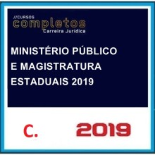 Magistratura Pública Estadual e MP 2019.1
