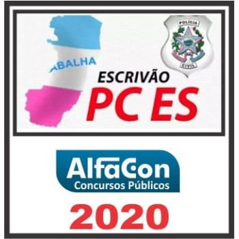 PC ES (ESCRIVÃO) ALFACON