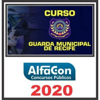 GUARDA MUNICIPAL (RECIFE – PE) 2020 (A)
