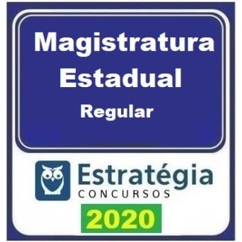 Magistratura Estadual (Regular) 2020