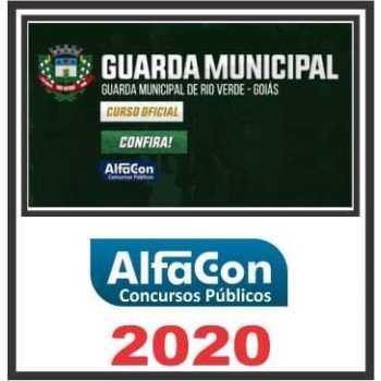 GM GO (GUARDA MUNICIPAL DE RIO VERDE GO) 2020 (A)