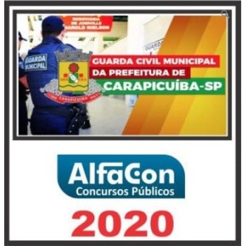 GM SP (GUARDA MUNICIPAL DE CARAPICUÍBA SP) 2020 (A)