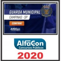 GM SP (GUARDA MUNICIPAL DE CAMPINAS SP) 2020 (A)