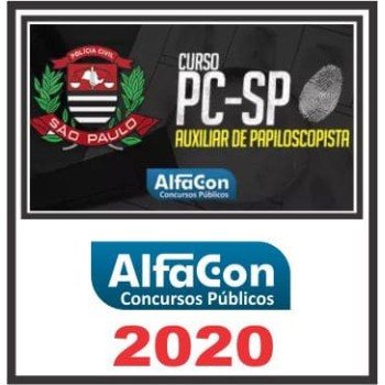 PC SP (Auxiliar de Papiloscopista)  2020