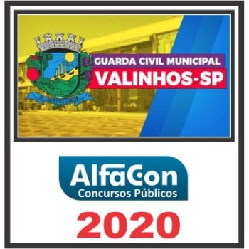 GM Valinhos SP (Guarda Municipal)  2020