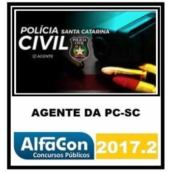 PC SC – Agente da Polícia Civil Santa Catarina 2017