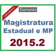 Magistratura Estadual e MP 2015.2 Damásio