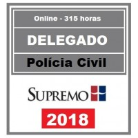 DELEGADO POLÍCIA CIVIL - SUPREMO TV 2018