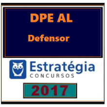 DPE AL (Defensoria Pública do Estado de Alagoas) - Pós Edital 2017