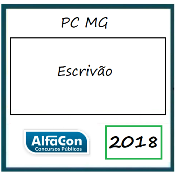 PC MG Escrivão 2018