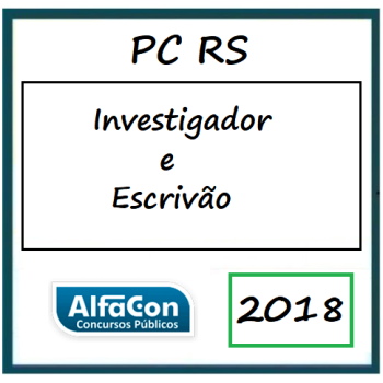 PC RS Inspetor e Escrivão 2018