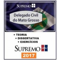 DELEGADO CIVIL MATO GROSSO - MT - SUPREMO TV 2017