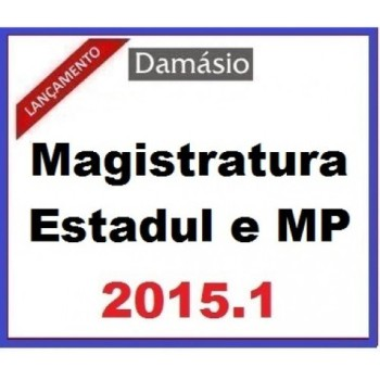 Magistratura Estadual e MP 2015.1